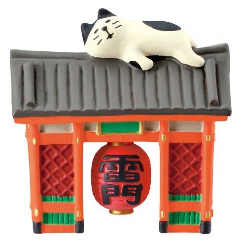 旅猫/浅草雷門・うとうと猫/デコレ/concombre