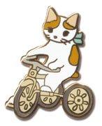 ピンバッジ/三輪車/ポタリングキャット