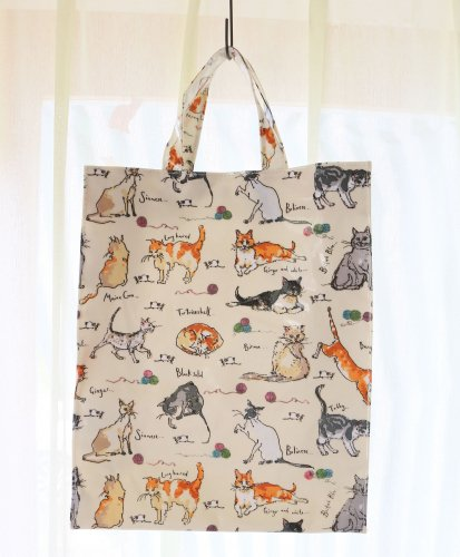ミディアムバッグ/PVC BAG/Madeleine Floyd Cats<img class='new_mark_img2' src='https://img.shop-pro.jp/img/new/icons49.gif' style='border:none;display:inline;margin:0px;padding:0px;width:auto;' />