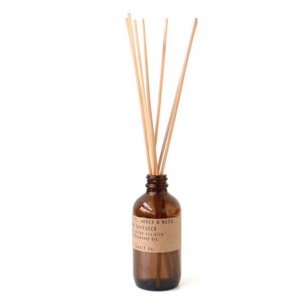 AMBER & MOSS / Reed Diffuser