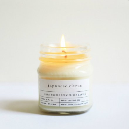 MASON JAR CANDLES / 8.0oz JAPANESE CITRUS
