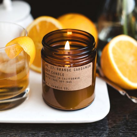 ORANGE CARDAMON / SOY CANDLE