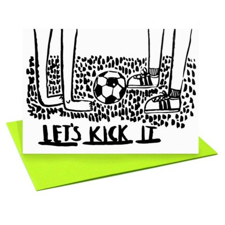 POST CARD Let's Kick It (サイズS)