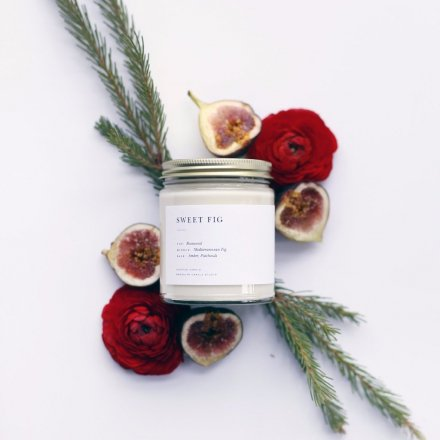 MINIMALIST CANDLES / 8.0oz SWEET FIG