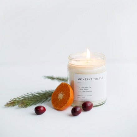 MINIMALIST CANDLES / 8.0oz MONTANA FOREST