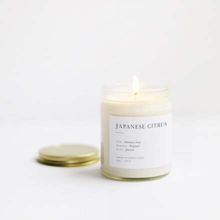 MINIMALIST CANDLES / 8.0oz JAPANESE CITRUS