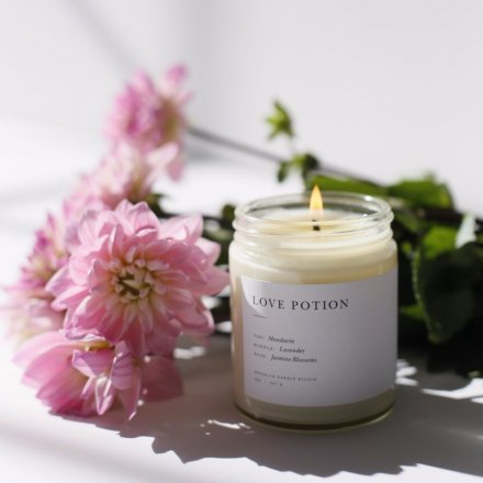 MINIMALIST CANDLES / 8.0oz LOVE POTION