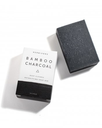HERBIVORE / FACE&BODY SOAPS (BAMBOO CHARCOAL)