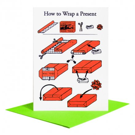 POST CARD How To Wrap (サイズM)