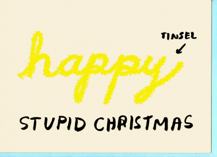 POST CARD Happy Stupid Christmas (サイズS)