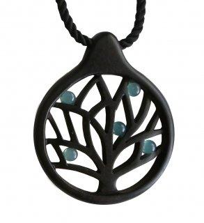 Tree ネックレス  blue