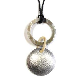 TIN わと円のネックレス