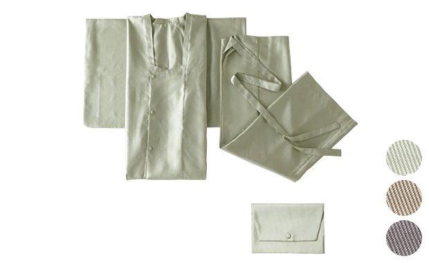 「おとづき商店×七緒」プレタ二部式雨コート