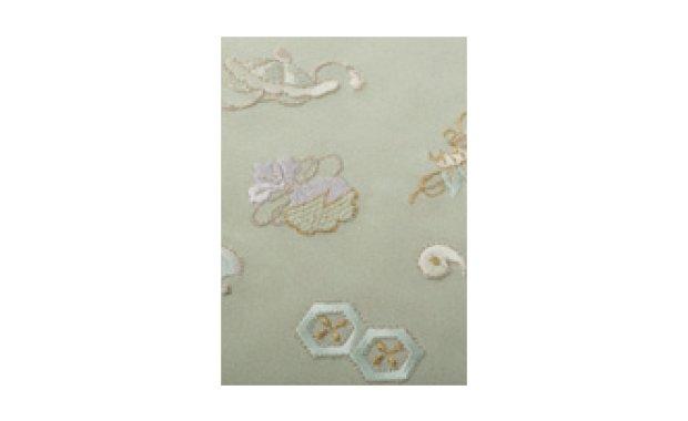 「荒川」ポリエステル刺繍半衿