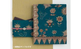 「月日荘」帯まわり福袋 バティック花柄