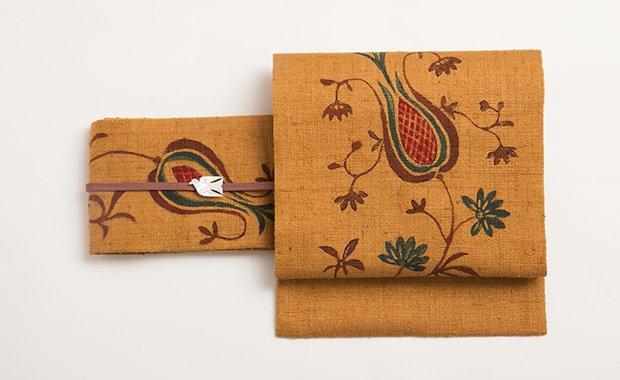 「SUZUKI」帯まわり福袋 手描き更紗名古屋帯