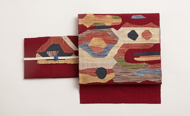 「SUZUKI」帯まわり福袋 抽象柄八寸名古屋帯
