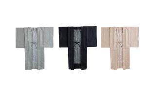 「くるり×七緒」ウール羽織