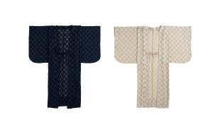 「kosode」市松薄羽織