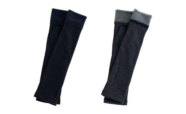 「たかはしきもの工房」着物用防寒ロング手袋マフマフ(天竺生地)