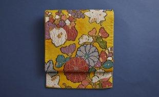 黄 菊袋帯