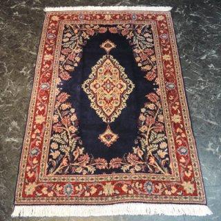 ペルシャ絨毯 Sサイズ(155cm×106cm) カシャーン産  1208