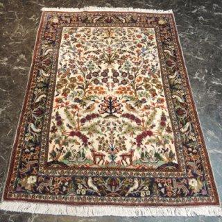 ペルシャ絨毯 Sサイズ(150cm×108cm) カシャーン産  56