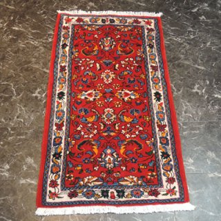 ペルシャ絨毯 Sサイズ(125cm×72cm) サルーク産  3173