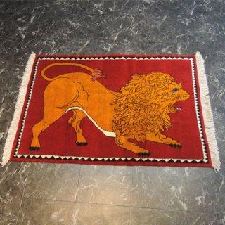 ペルシャ絨毯 Sサイズ(119cm×83cm) シラーズ産  3188