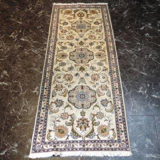 ペルシャ絨毯 廊下敷き(233cm×87cm) カシャーン産 1490