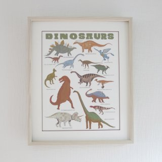 <img class='new_mark_img1' src='//img.shop-pro.jp/img/new/icons14.gif' style='border:none;display:inline;margin:0px;padding:0px;width:auto;' />dinosaurs framed poster
