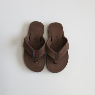 kid's premier leather sandal - espresso