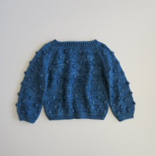 <img class='new_mark_img1' src='//img.shop-pro.jp/img/new/icons14.gif' style='border:none;display:inline;margin:0px;padding:0px;width:auto;' />popcorn sweater - indigo