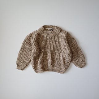 <img class='new_mark_img1' src='https://img.shop-pro.jp/img/new/icons14.gif' style='border:none;display:inline;margin:0px;padding:0px;width:auto;' />chunky cotton knit - ivory & caramel