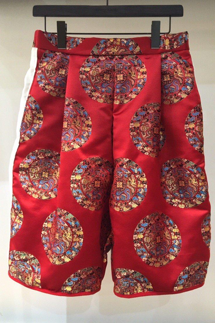 HALF PANTS  -RED CIRCLE-