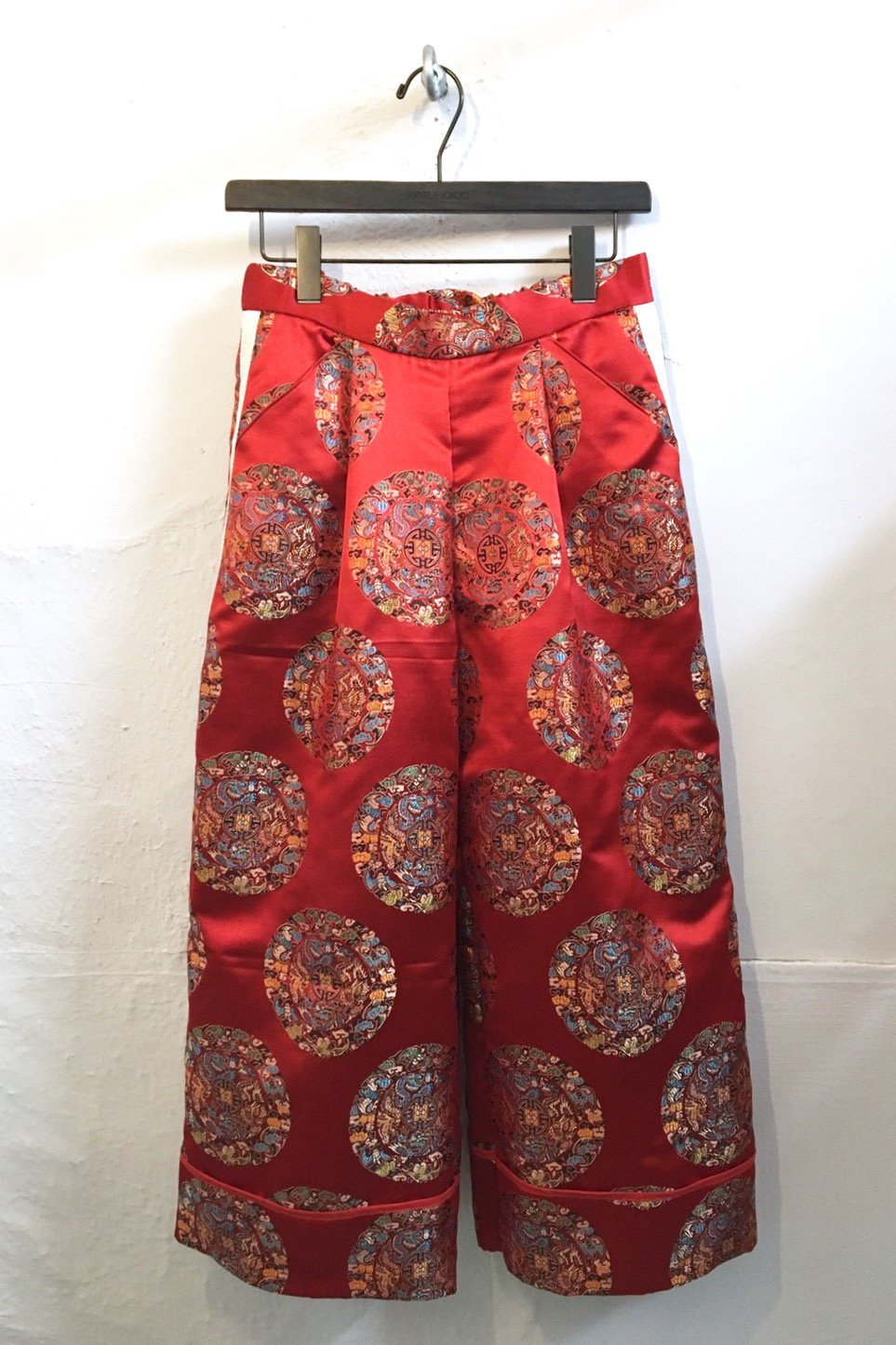 WIDE PANTS<br />-RED CIRCLE-