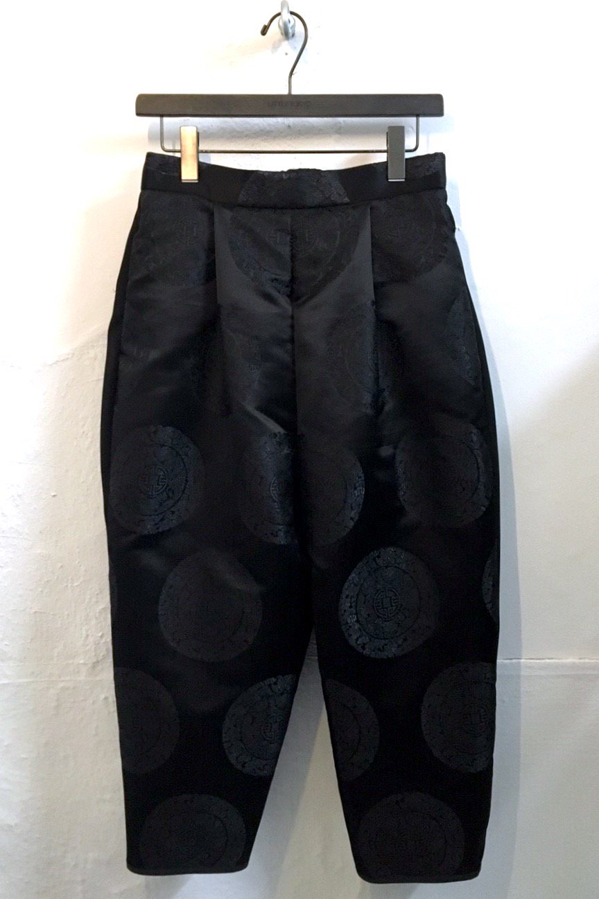 LONG PANTS  -BLACK CIRCLE-