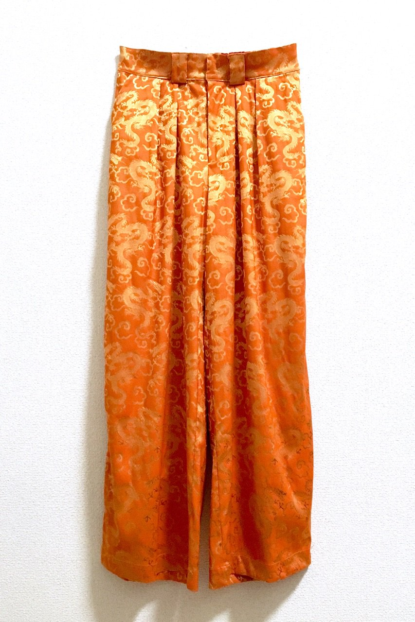DRAGON PANTS<div>ORG / BL / BK <img class='new_mark_img2' src='//img.shop-pro.jp/img/new/icons15.gif' style='border:none;display:inline;margin:0px;padding:0px;width:auto;' />