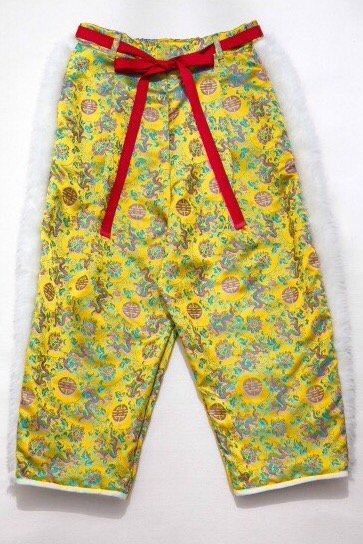 BOA PANTS<br />-YELLOW DRAGON-<img class='new_mark_img2' src='https://img.shop-pro.jp/img/new/icons54.gif' style='border:none;display:inline;margin:0px;padding:0px;width:auto;' />