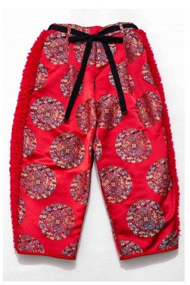 BOA PANTS  -RED CIRCLE-