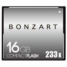 CFカード 16GB X233〜X600<br>BONZART ボンザート<br>コンパクトフラッシュ 16ギガ<br>永久保証付き