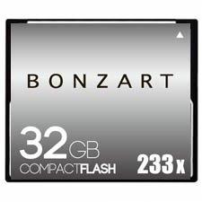 CFカード 32GB X233〜X600<br>BONZART ボンザート<br>コンパクトフラッシュ 32ギガ<br>永久保証付き