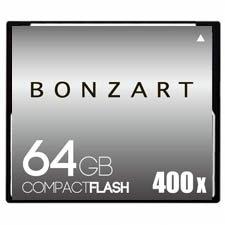 CFカード 64GB X400〜X600<br>BONZART ボンザート<br>コンパクトフラッシュ 64ギガ<br>永久保証付き