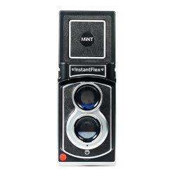インスタントフィルムカメラ<br>Instant Flex TL70<br>MiNT ミント<br>チェキ用フィルム10枚付き