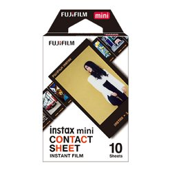チェキ用フィルム<br>FUJIFILM instax mini<br>ブラック