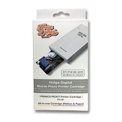 プリンター カートリッジ<br>Mobail Photo Printer Cartridge<br>HOLGA DIGITAL<br>2パック 各10枚 全20枚
