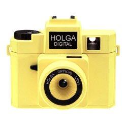 トイカメラ<br>HOLGA DIGITAL ネオンイエロー<br>800万画素