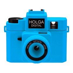 トイカメラ<br>HOLGA DIGITAL ネオンブルー<br>800万画素
