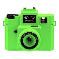 トイカメラ<br>HOLGA DIGITAL ネオングリーン<br>800万画素
