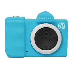 トイカメラ<br>BONZART Lit+ スカイブルー<br>30万画素